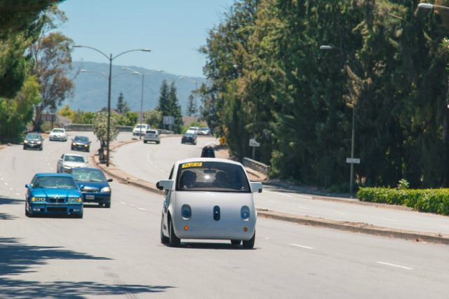 Googlecar driveless